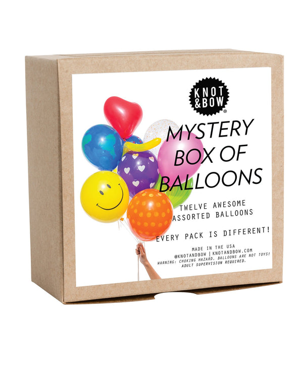 Mystery Party Balloons