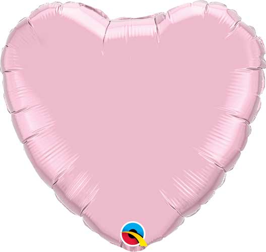 Pearl Pink Heart Balloon
