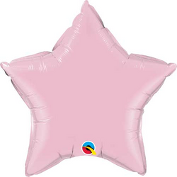 "20"" Star Balloon - Pearl Pink"