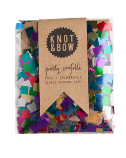 Metallic Rainbow Single Serving Size™ Confetti