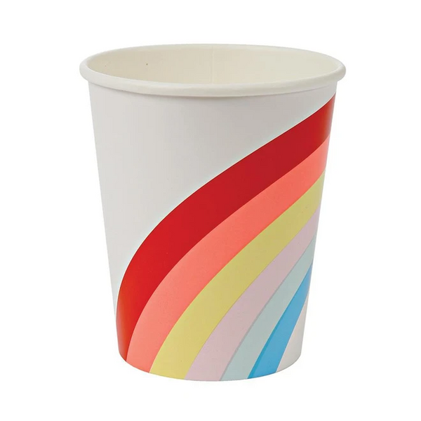 Big Rainbow Party Cups