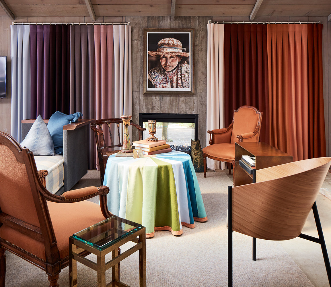 Sandra Jordan's Healdsburg Guest House Just Published in Interiors Magazine
