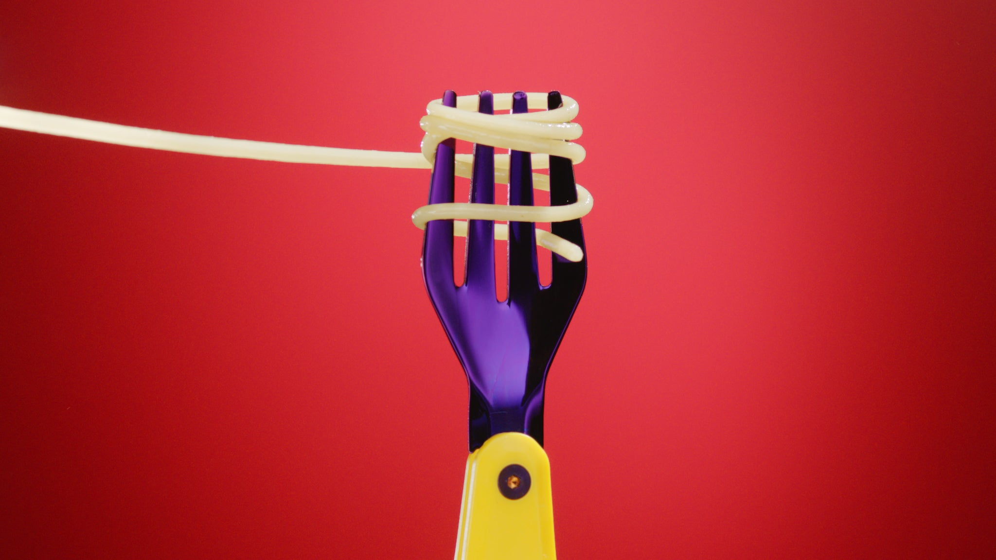 otherware pebble fork spaghetti campaign shot