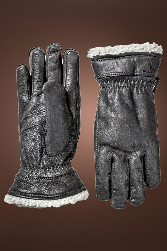 Women's Deerskin Primaloft Gloves