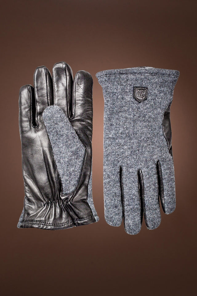Men's Classic Wool Tricot and Lambskin Gloves