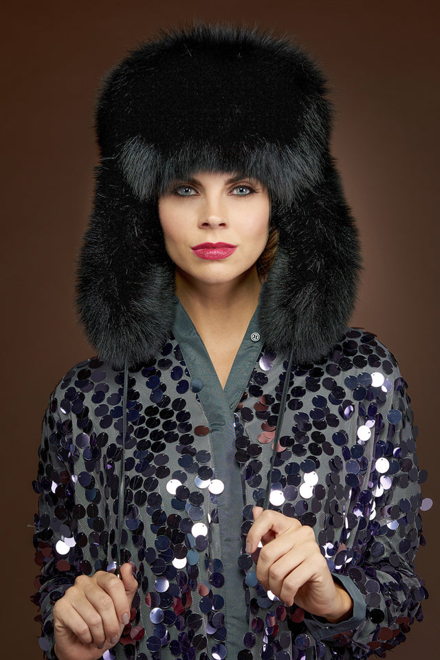 Oversized Unisex Trapper Fur Hat
