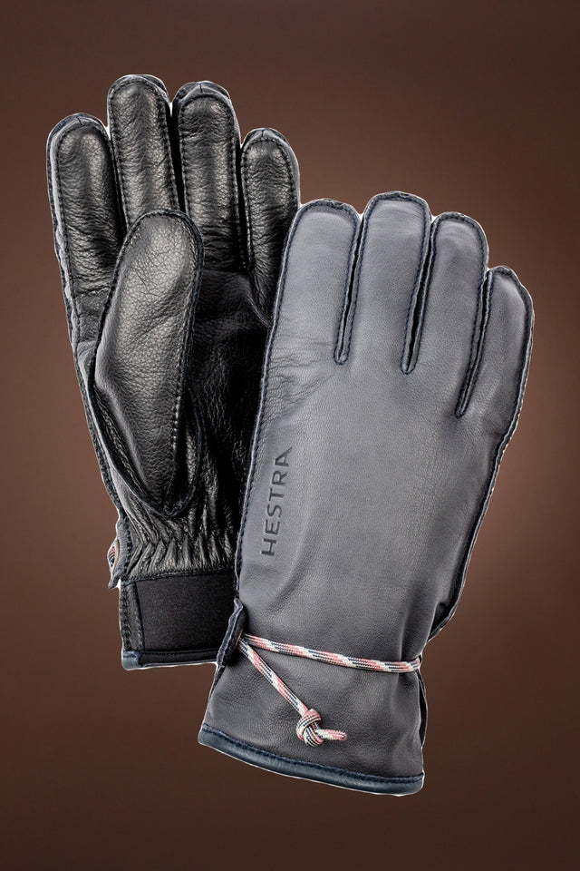 Wakayama Two-Tone Leather Gloves
