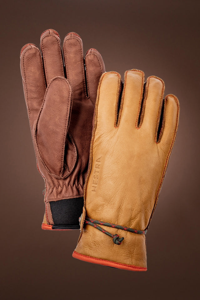 Cork Hestra Wakayama Two-Tone Leather Gloves