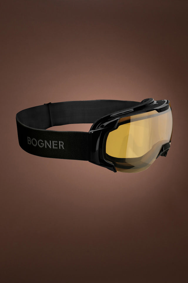 Black Bogner Just B Polarized Snow Goggles