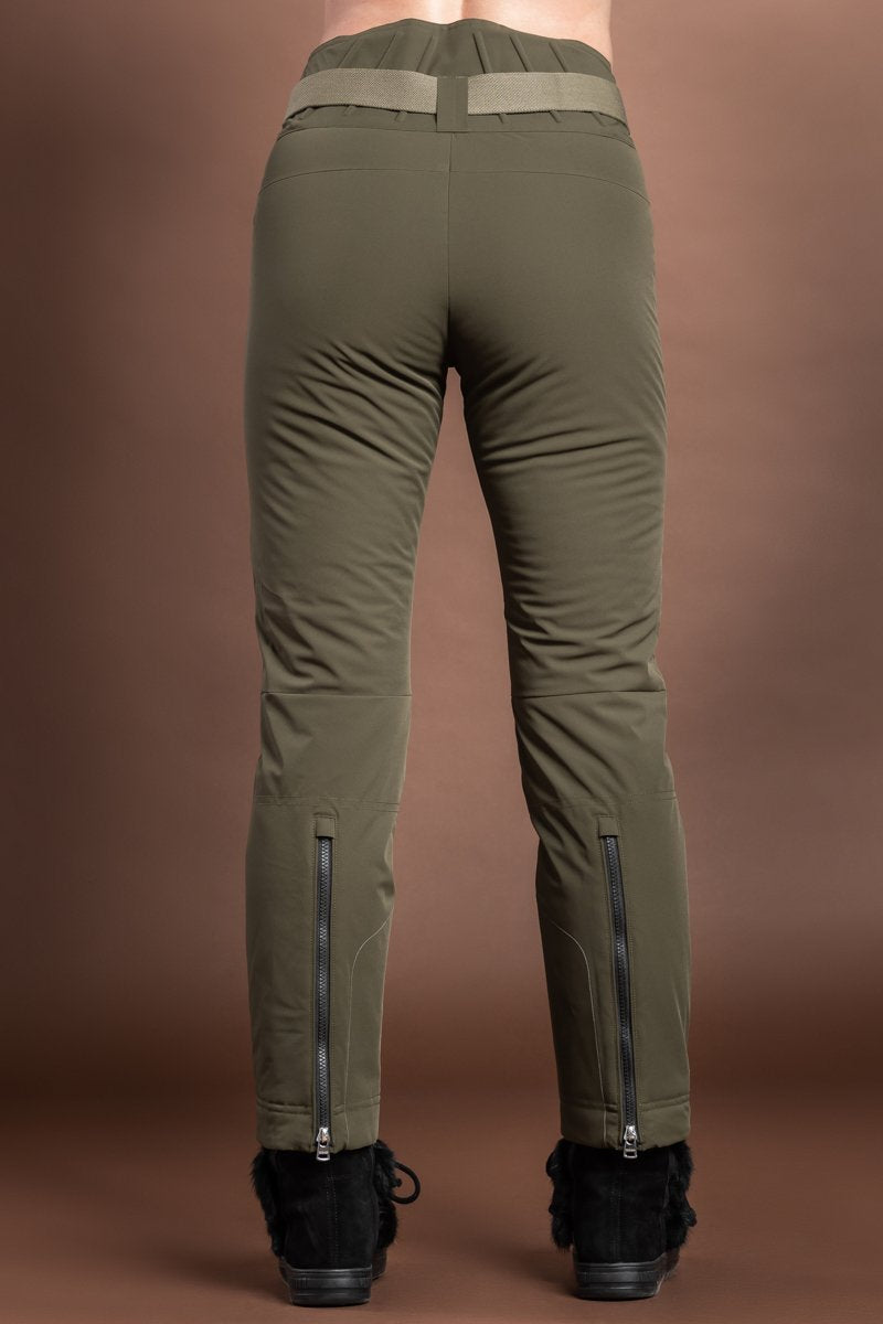 DarkOlive Bogner Geri Insulated 4 Way Stretch Ski Pants