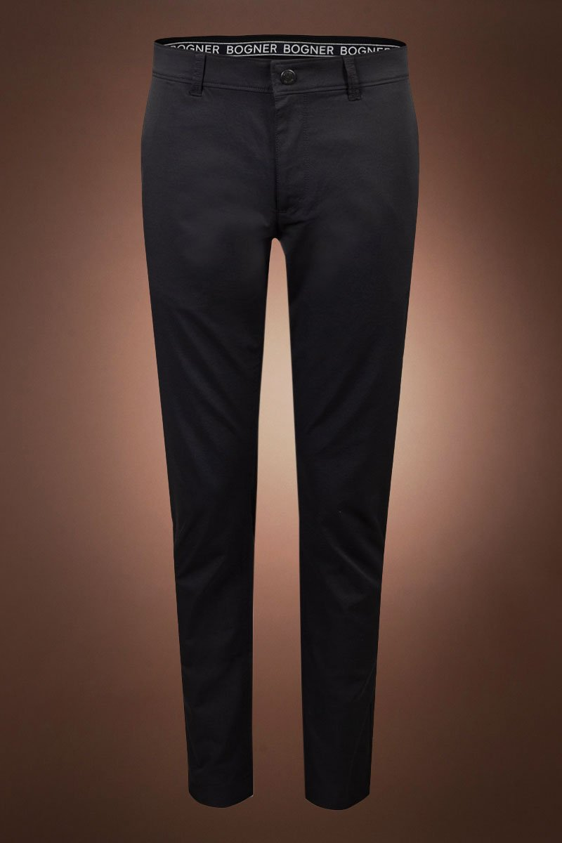 Black Bogner Arco Twill Golf Pant