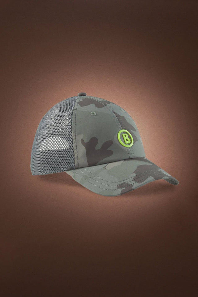 Bonito Netted Golf Cap - Olive Green