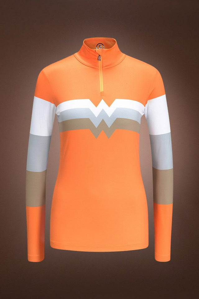 Beline W Tec Jersey Base Layer - Vibrant Orange