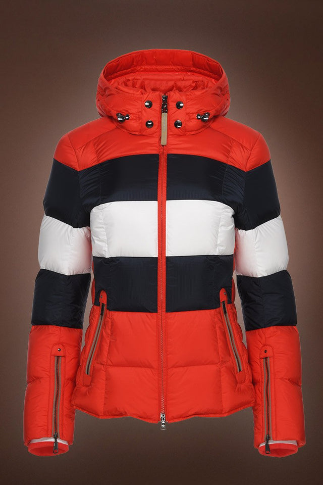 Colly Down Ski Jacket - Ferrari Red