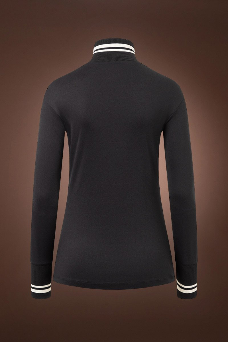 Black Bogner Dimitra Tec Jersey Base Layer