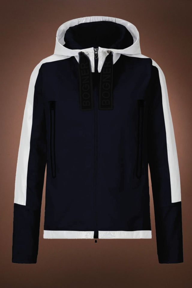 Ina High Low Sweatshirt - Navy Blue