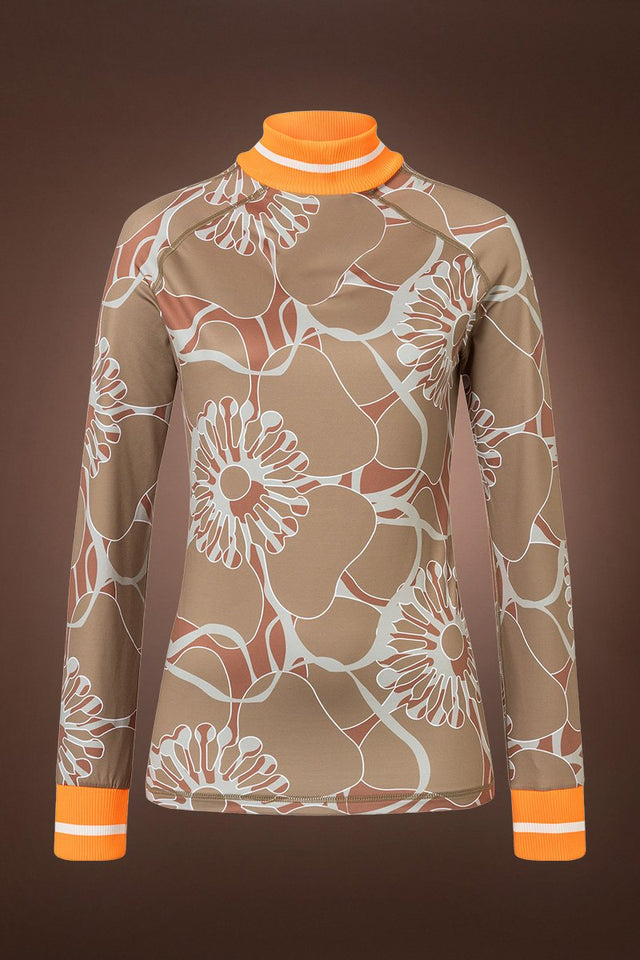 Madeline Print Tec Jersey Base Layer