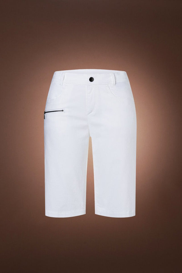 Netty G Golf Short - White