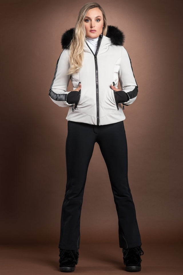 Kaja Softshell Hooded Ski Jacket