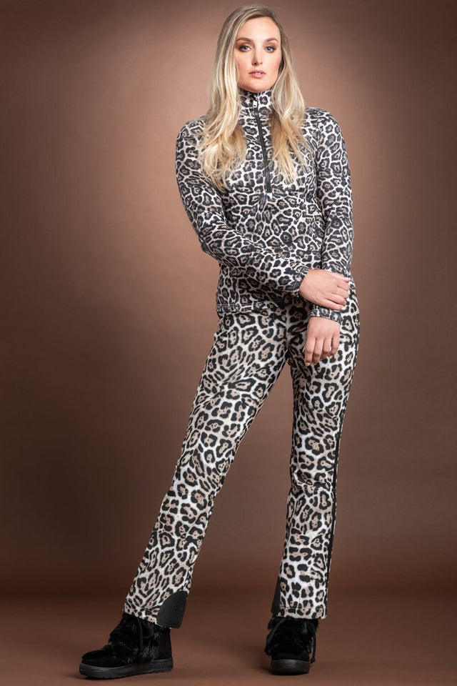 Lilja Leopard Print Base Layer