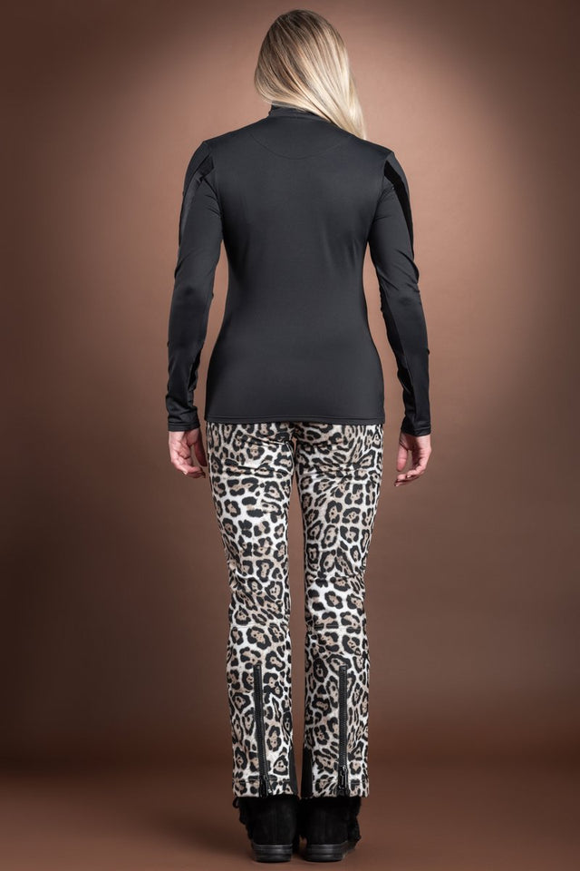 Goldbergh Ski Print Sequin Base Layer