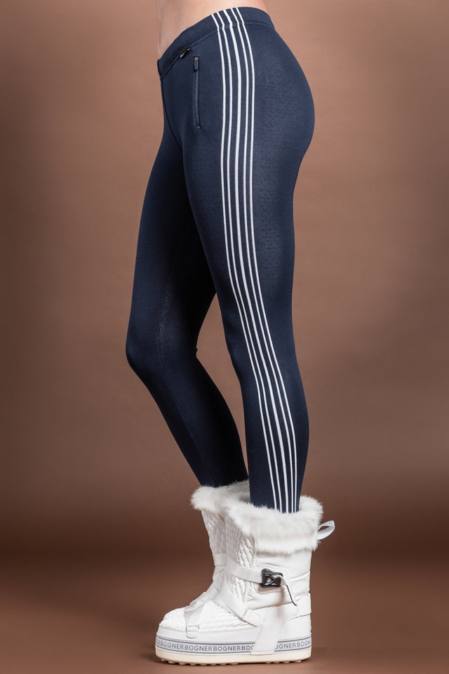 Newland Suzy Navy - White Mountain Lounge Stars Parade DHTech 400 Base Layer Leggings