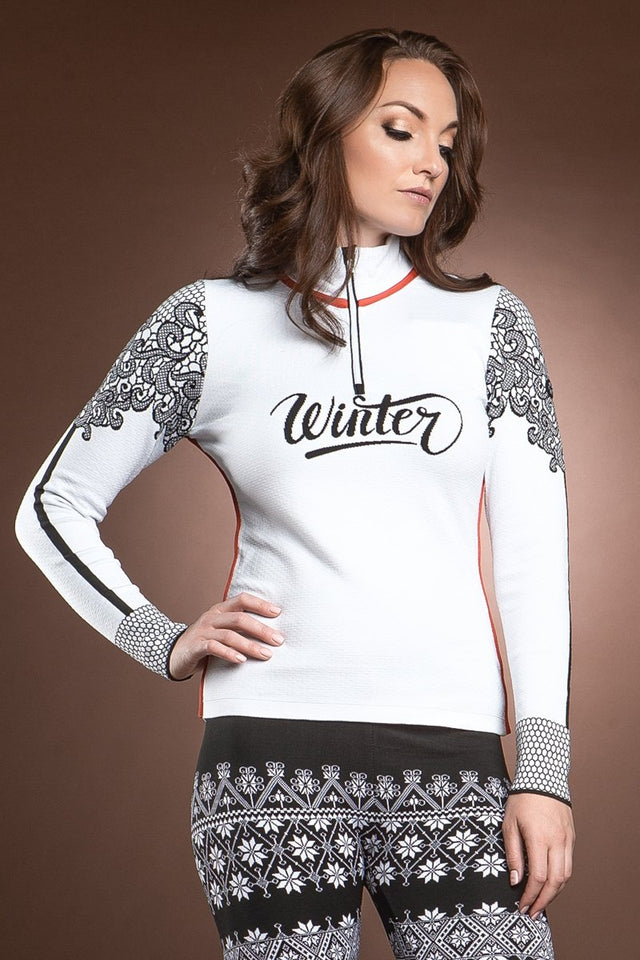 Euporia Winter Lace 1/2 Zip Pullover