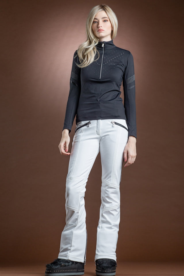 Natalie Triangle 1/2 Zip Jersey Base Layer