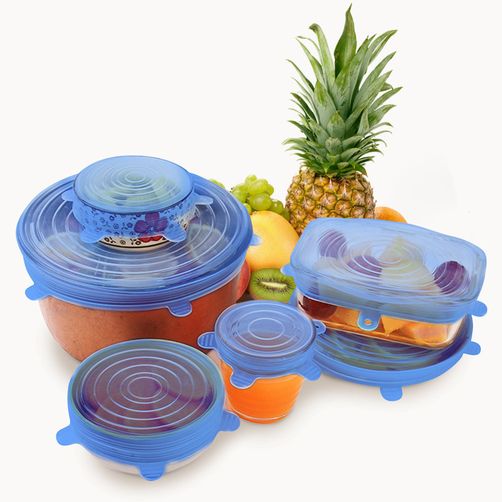 Reusable Food and Container Lids