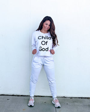 Child Of God Hoodie - White