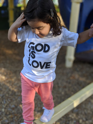 God is Love toddler tee