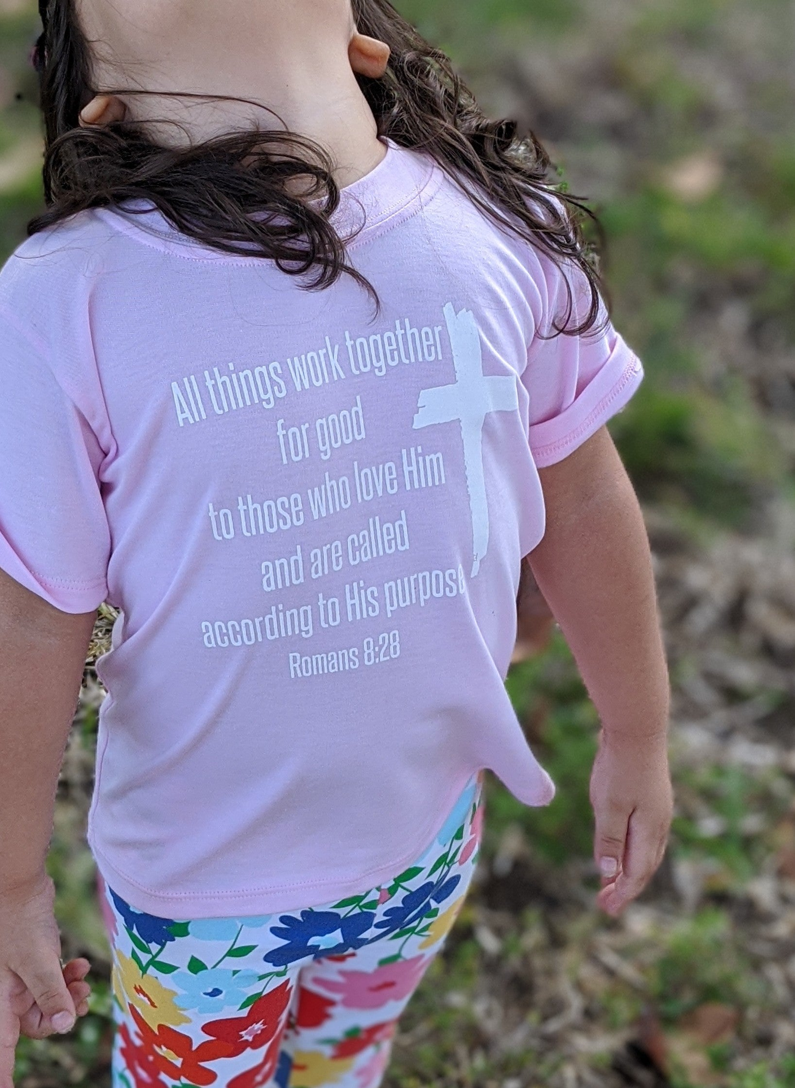 Romans 8:28 Toddler Tee