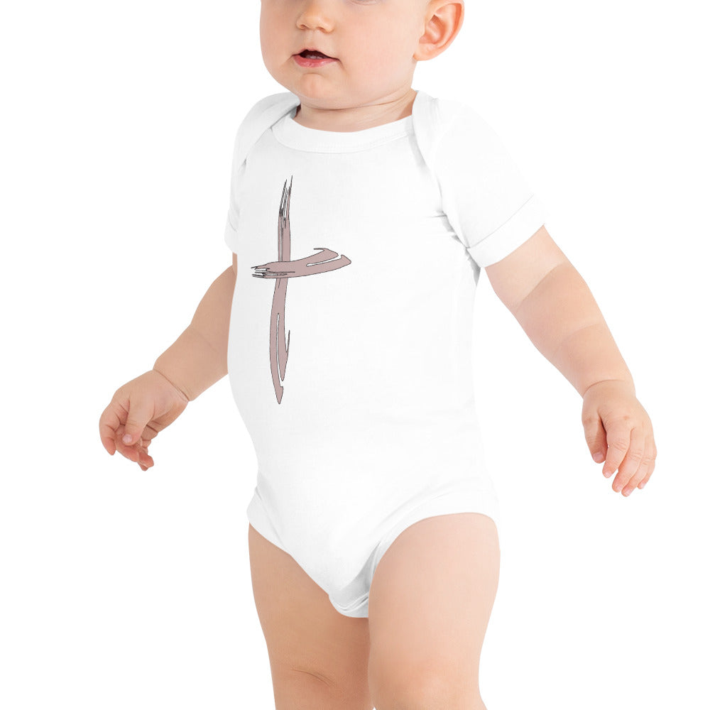 Poiema Cross Onesie
