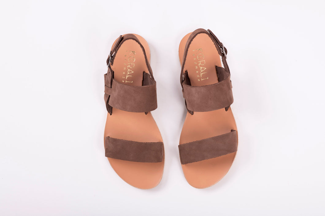 URANIA leather sandals- 3 Colours