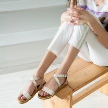 Load image into Gallery viewer, MADELYN leather sandals- Flash Sale