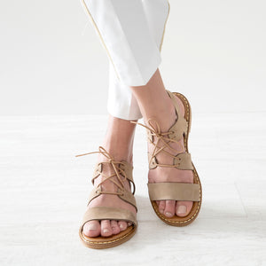 MELODY leather sandals - Flash Sale