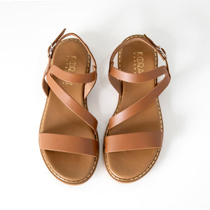 MIRANDA leather sandals- Flash Sale