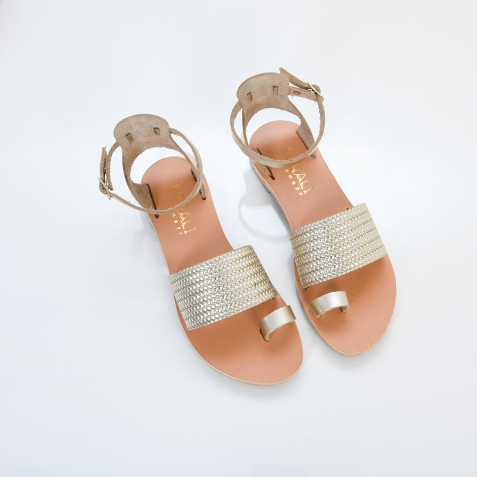 IVI Premium Leather Sandals - 3 Colours (With texture)