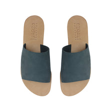 Load image into Gallery viewer, EUTERPE leather sliders- 3 Colours