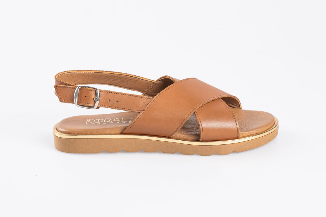 MELINDA leather sandals-Flash Sale