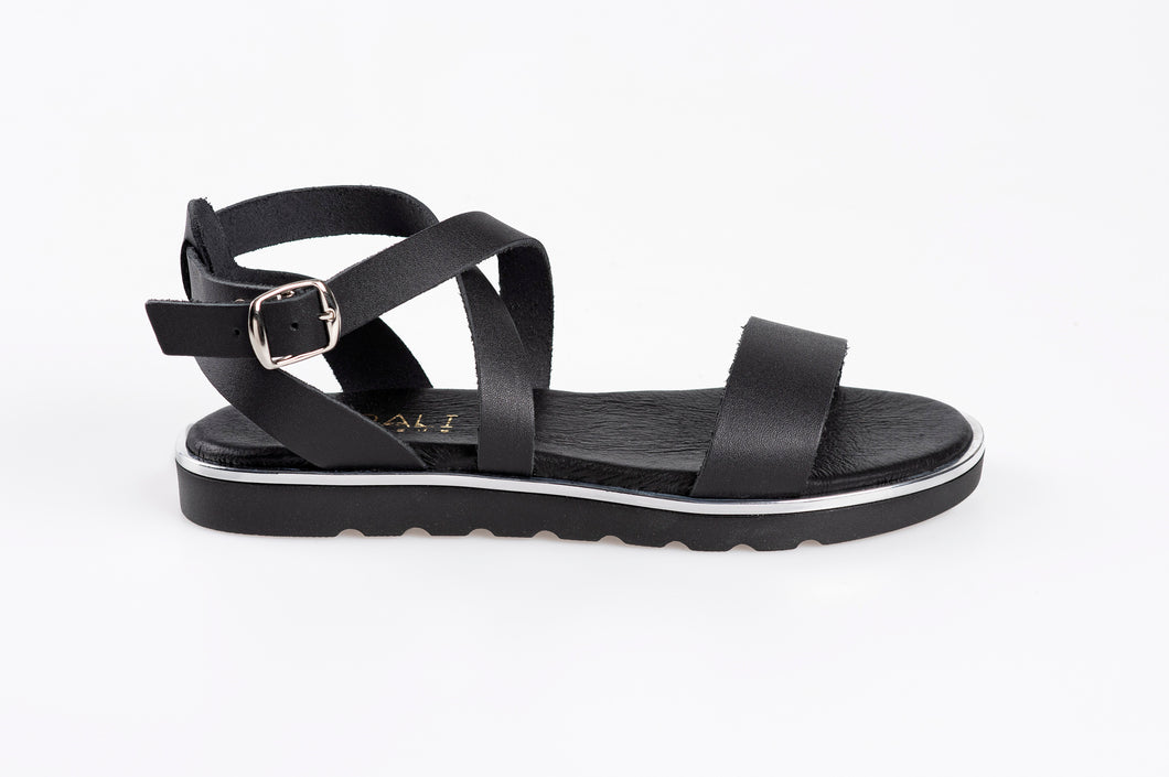 MADELYN leather sandals- Flash Sale