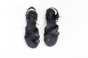 MIA leather sandals-3 colours