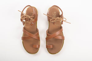 MIA leather sandals-Flash Sale