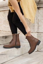 Load image into Gallery viewer, BEATRICE Brown Ankle boots