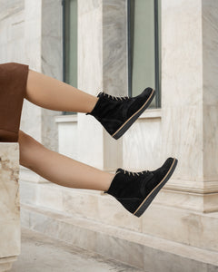 CHLOE Brown leather Ankle boots