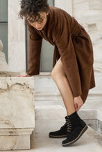 Load image into Gallery viewer, CHLOE Brown leather Ankle boots