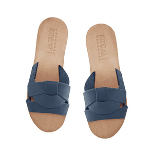 CALLIOPE leather sliders- 3 Colours