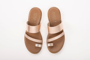 SIENNA leather sliders- 3 Colours