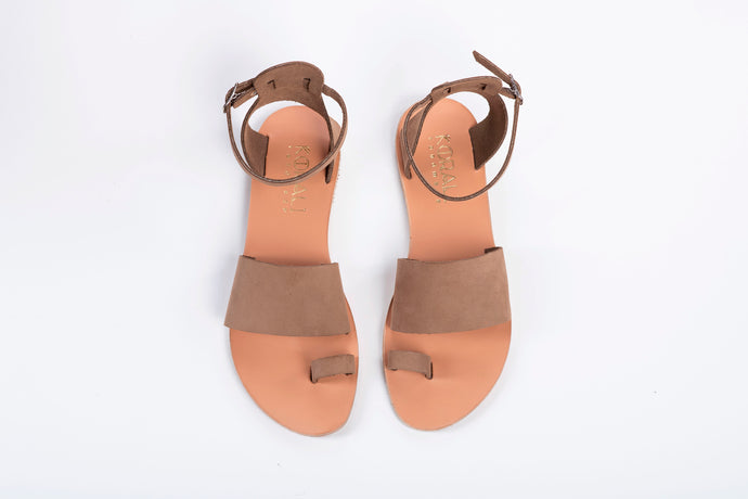 THALIA leather sandals- 3 Colours