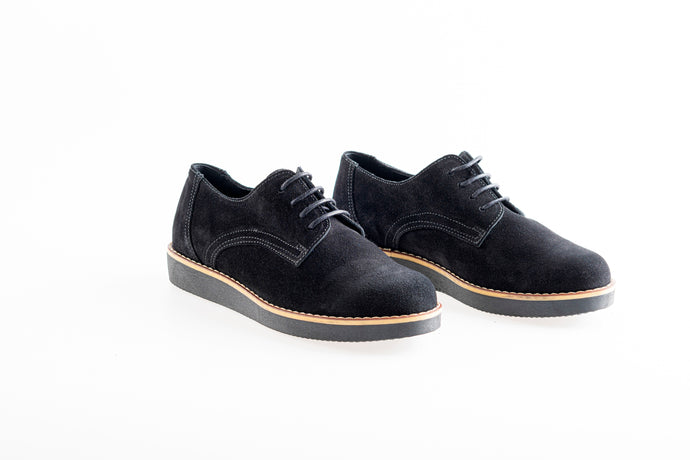 BETHANY Black oxford Leather shoes